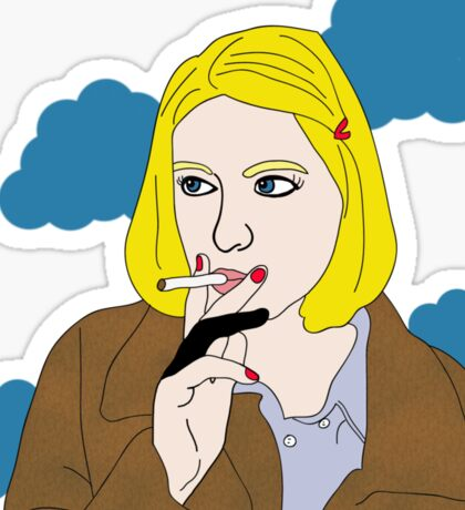 Margot Tenenbaum Sticker