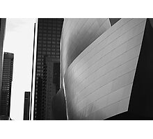 Disney Music Hall BW Photographic Print
