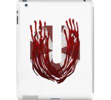 Geek letter U iPad Case/Skin
