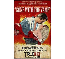 True Blood - Gone With the Vamp (Eric and Sookie) Photographic Print