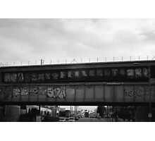 Bombed bridges.  Photographic Print