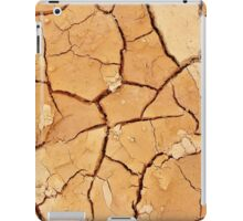Footprint in the Cracked Earth iPad Case/Skin