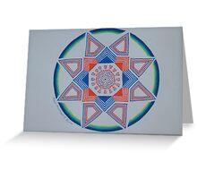 Wheel of Life Greeting Card