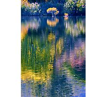 Colourful Reflections Photographic Print