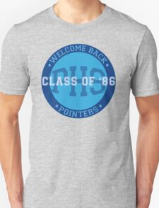 Welcome Back Pointers: Class of '86 - Grosse Pointe Blank Unisex T-Shirt