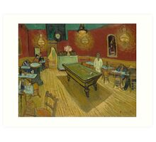 The Night Café by Vincent van Gogh Art Print