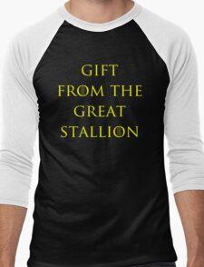 Gift from the Great Stallion Men's Baseball ¾ T-Shirt