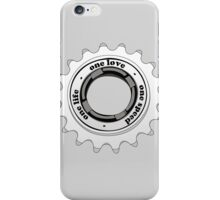 One speed iPhone Case/Skin