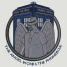 The Angel Works the Phonebox by Code-E