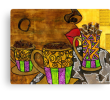 I'll Take Three Cups of Java Please Canvas Print
