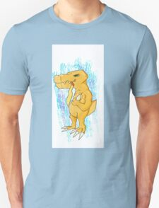 Agumon ate something cute Unisex T-Shirt