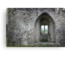Wistful Window Canvas Print