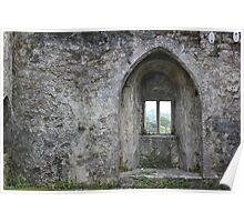 Wistful Window Poster