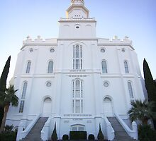 St. George Temple by David Kocherhans