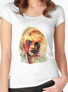 Acerbic Women's Fitted Scoop T-Shirt