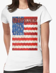 Granfalloon Womens Fitted T-Shirt