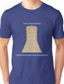 Time Travel (white) Unisex T-Shirt