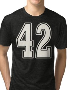 42 For Dark Tri-blend T-Shirt