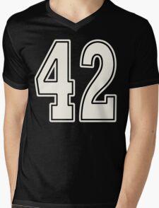 42 For Dark Mens V-Neck T-Shirt