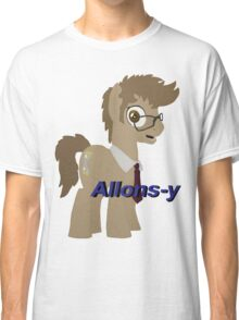 10th Doctor Whooves Classic T-Shirt