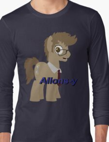 10th Doctor Whooves Long Sleeve T-Shirt