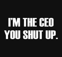 I'm The CEO by personalized