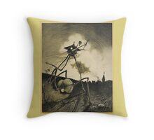 Original Illustrations War of the Worlds 2 Throw Pillow