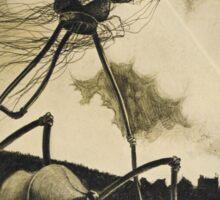 Original Illustrations War of the Worlds 2 Sticker
