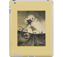 Original Illustrations War of the Worlds 2 iPad Case/Skin