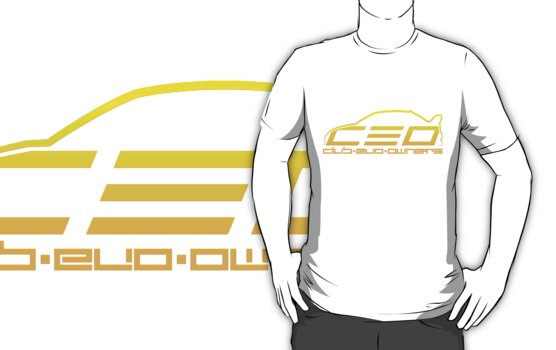 Club Evo Owners - Regular Logo (Yellow) by James Love