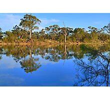 Murray River Scene, Mildura , Australia Photographic Print