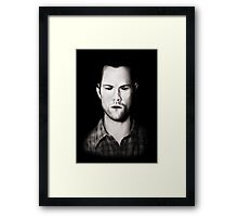 Sam Winchester - Boy with the Demon Blood Framed Print