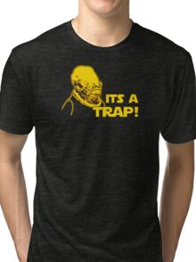 Its a Trap Tri-blend T-Shirt