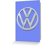VW Kombi Logo Greeting Card
