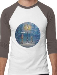 Narnia Magic Lantern Men's Baseball ¾ T-Shirt