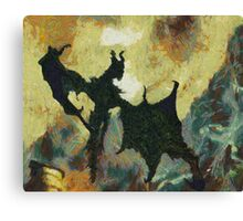 Behold Canvas Print