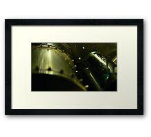 35mm film projector sprocket Framed Print