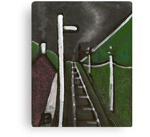 Abstract train Canvas Print