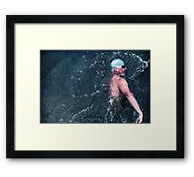 Waterworks Framed Print