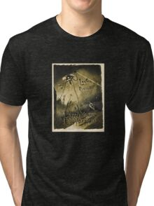 H.G. Wells War of the Worlds Tri-blend T-Shirt