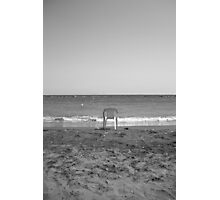 Sea view is expensive Photographic Print