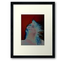 Dark wave Framed Print