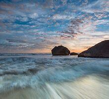Newdicks Shark Fin Rock by Ken Wright