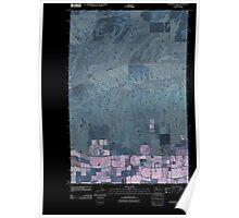 USGS Topo Map Washington State WA Monument Hill 20110425 TM Inverted Poster