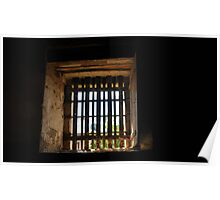 Old gaol cell window Poster
