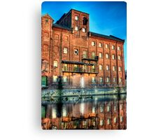 Abandoned Flour Mill HDR Canvas Print
