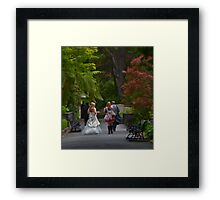 That Special Day Framed Print