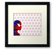 A Splash of Heroism Framed Print