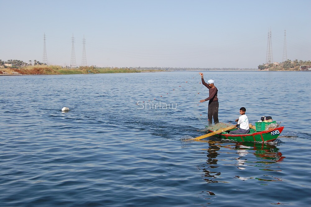 Egyptian Fisherman by Jamie Shirlaw