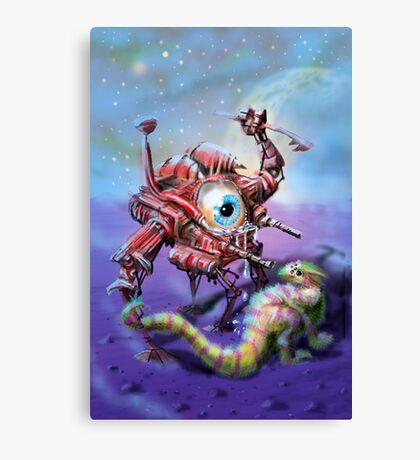 Mechanoid Canvas Print